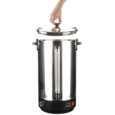 vidaXL Glühwein ketel 2500 W 40 L roestvrij staal