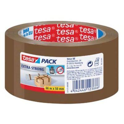 Tesa verpakkingsplakband Extra Strong, ft 50 mm x 66 m, PVC, bruin
