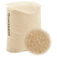 vidaXL Filterzand 25 kg 0,4-0,8 mm