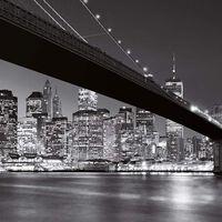W&G Fotobehang Brooklyn Bridge 00140