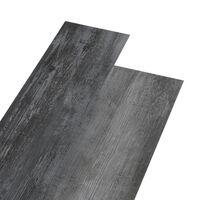 vidaXL Vloerplanken zelfklevend 5,02 m² 2 mm PVC glanzend grijs