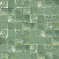 Evergreen Behang Tiles groen