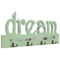 vidaXL Wandkapstok DREAM 50x23 cm