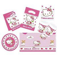 Hello Kitty thema kinderfeestje versiering pakket 2-6 personen -
