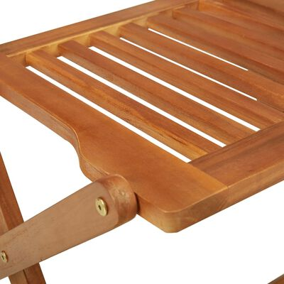 vidaXL 3-delige Tuinset inklapbaar massief acaciahout