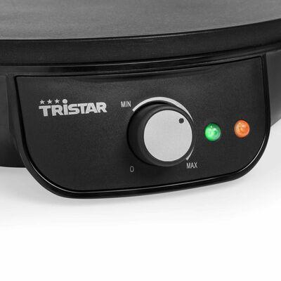 Tristar Crêpemaker 1000 W 30 cm zwart