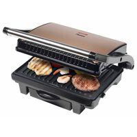 Bestron Panini grill ASW113CO 1000 W zwart en koperkleurig