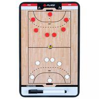 Pure2Improve Coach-bord dubbelzijdig handbal 35x22 cm P2I100630