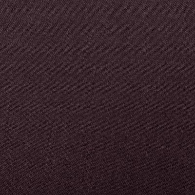 vidaXL Leunstoel stof paars