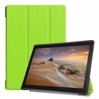 3-vouw Sleepcover Hoes Groen Voor De Lenovo Tab E10