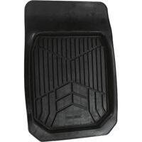automat rubber 74 x 50 cm zwart