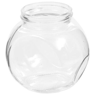 vidaXL Snoeppotten 6 st 10,5x8x10,3 cm 480 ml