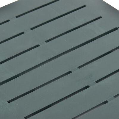 vidaXL Tuintafel inklapbaar 45x43x50 cm kunststof groen