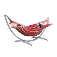 Hangmat Met Standaard – 2 Persoons – Extra Stabiel Frame Tot 220 Kg –