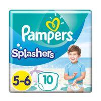 Pampers Zwemluiers - Splashers Maat 5-6 Carrypack 10 Stuks