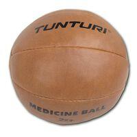 Tunturi Medicine bal l 1 t/m 5 kg l bruin