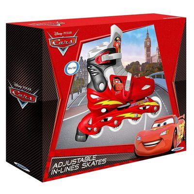 Disney inlineskates Cars jongens rood maat 30/33