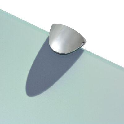 vidaXL Zwevend schap 70x20 cm 8 mm glas