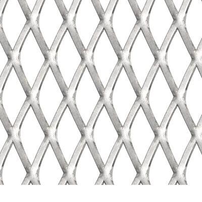 vidaXL Draadhek 100x85 cm 45x20x4 mm roestvrij staal