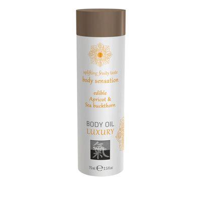 Luxe Eetbare Body Oil - Abrikoos & Duindoorn