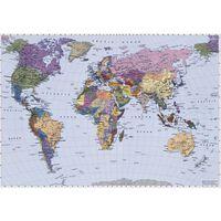 Komar Fotobehang World Map 270x188 cm 4-050