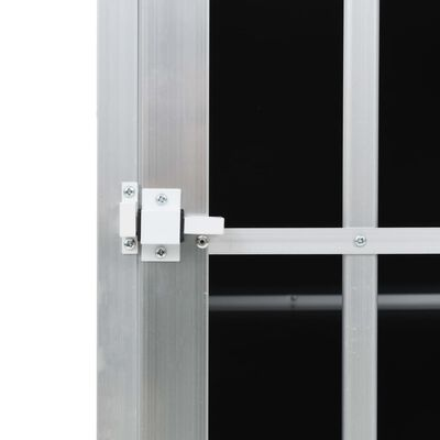 vidaXL Hondenbench met enkele deur 65x91x69,5 cm