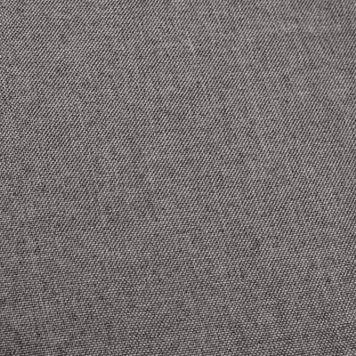 vidaXL Barstoel met armleuning stof donkergrijs