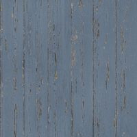 Homestyle Behang Old Wood blauw