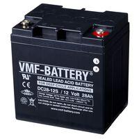 VMF AGM Deep Cycle accu 12 V 28 Ah DC28-12S