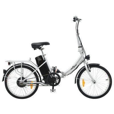 vidaXL Elektrische fiets inklapbaar met Li-ion-accu aluminiumlegering