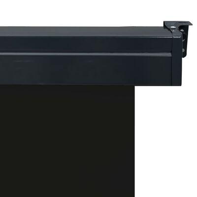 vidaXL Balkonscherm 80x250 cm zwart
