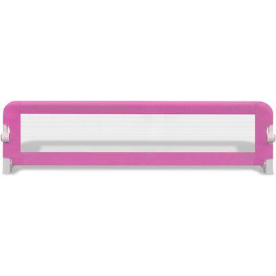 vidaXL Bedhekje peuter 150x42 cm roze