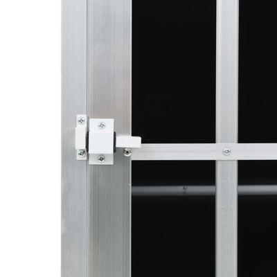 vidaXL Hondenbench met dubbele deur 94x88x69 cm