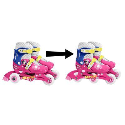Disney Disney verstelbare inlineskates Minnie Mouse mt 27/30