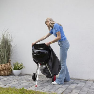 Madison Barbecuehoes rond 57x88 cm grijs