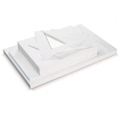 960x Vellen verhuis inpakpapier wit - 50 x 75 cm - Beschermpapier /