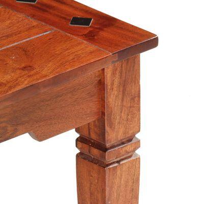 vidaXL Salontafel 110x50x35 cm massief acaciahout