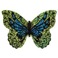 Moses mini-vlieger met touw Vlinder 10 cm groen