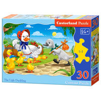 Castorland legpuzzel The Ugly Duckling 30 stukjes