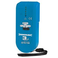 Silverline 3-In-1 Detector, Compact (1 X 9 V (Pp3))