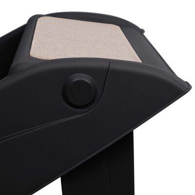 vidaXL Hondentrap inklapbaar 62x40x49,5 cm zwart
