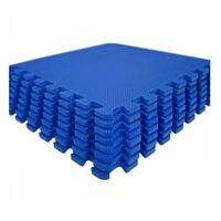 Monzana Vloerbeschermmatten (set van 8 stuks) in blauw