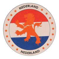 50x Bierviltjes Nederlandse leeuw thema print - Hollandse leeuwen