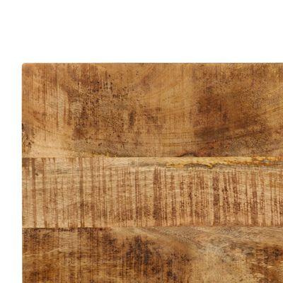vidaXL Eettafel 120x60x76 cm massief mangohout