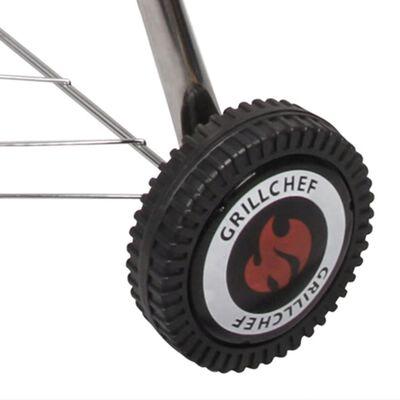 Grillchef Ketel houtskoolbarbecue 53,5 cm zwart 11100