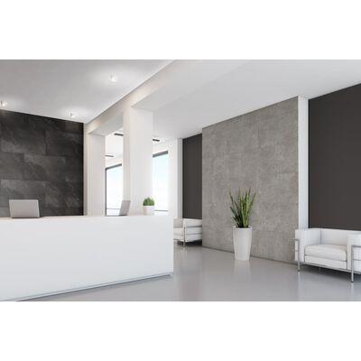 Grosfillex 5 st Wandtegels Gx Wall+ steen 45x90 cm donkergrijs