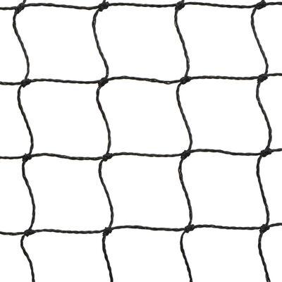 vidaXL Badminton net met shuttles 500x155 cm