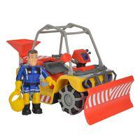 Simba Speelgoedsneeuwvoertuig Winter Mercury met Brandweerman Sam