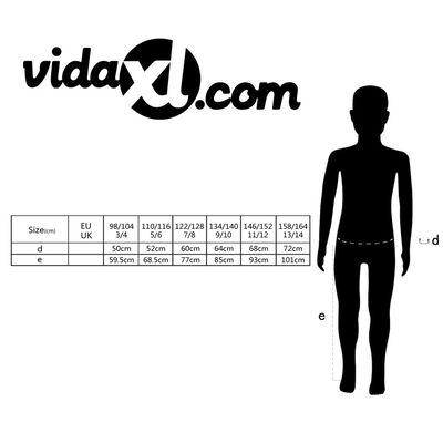 vidaXL Kinderoverall maat 146/152 blauw