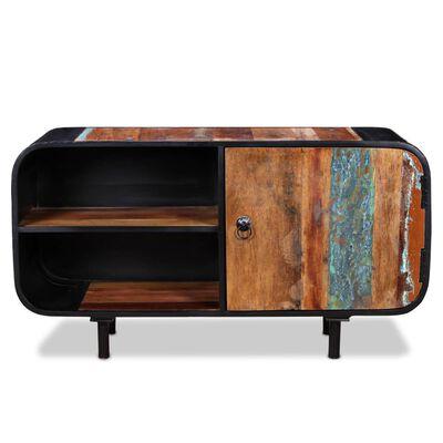 vidaXL Tv-meubel 90x30x48 cm gerecycled hout